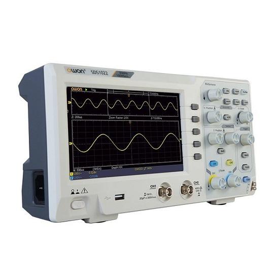 SDS1102 Digital Storage Oscilloscope, Dual Channel 100 MHz