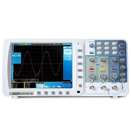 SDS-7102V Deep Memory Digital Storage Oscilloscope 100 MHz