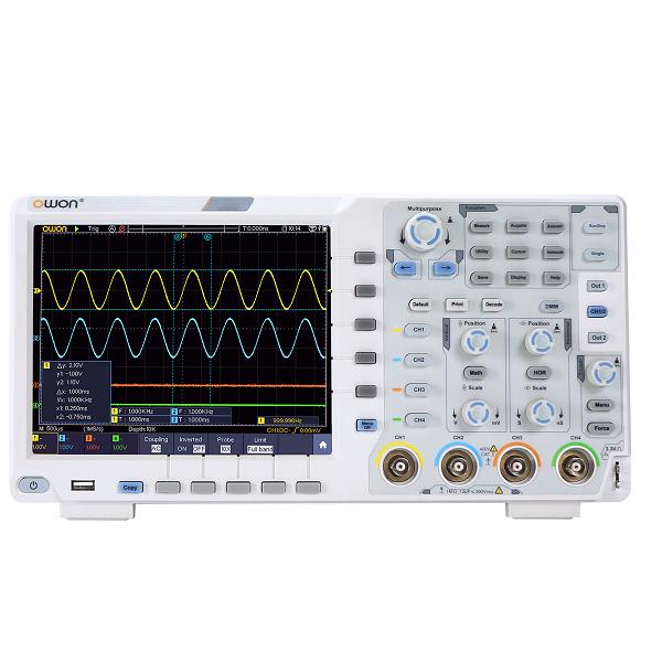 XDS 3204E Digital Oscilloscope- 4 Channel, 200 Mhz
