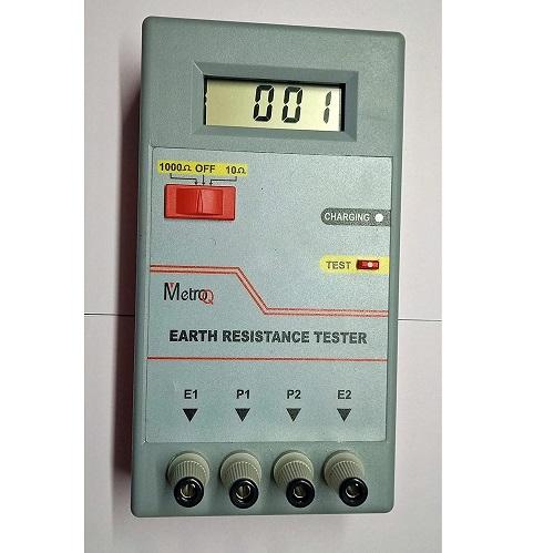 MTQ DET- Digital Earth Resistance Tester