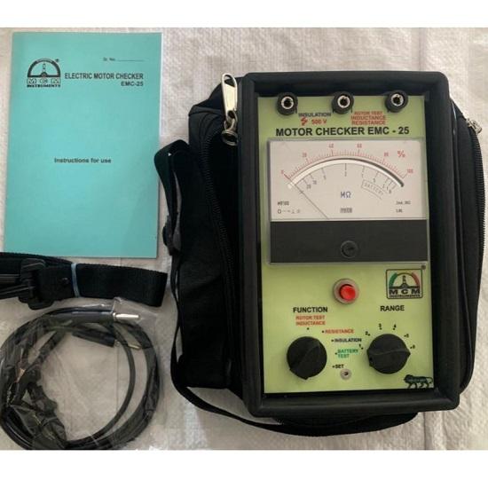Analog Motor Checker EMC-25