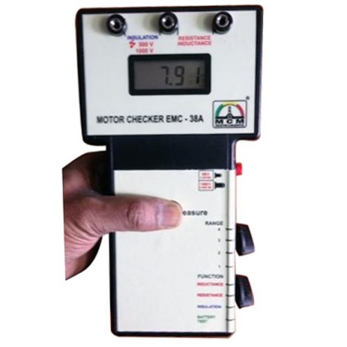 Digital Motor Checker EMC-38A