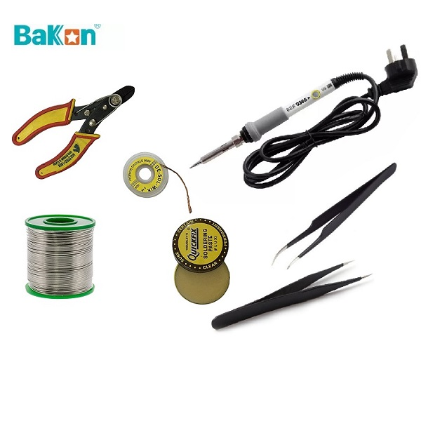60W Professional Soldering Iron- Kit -Value Pack