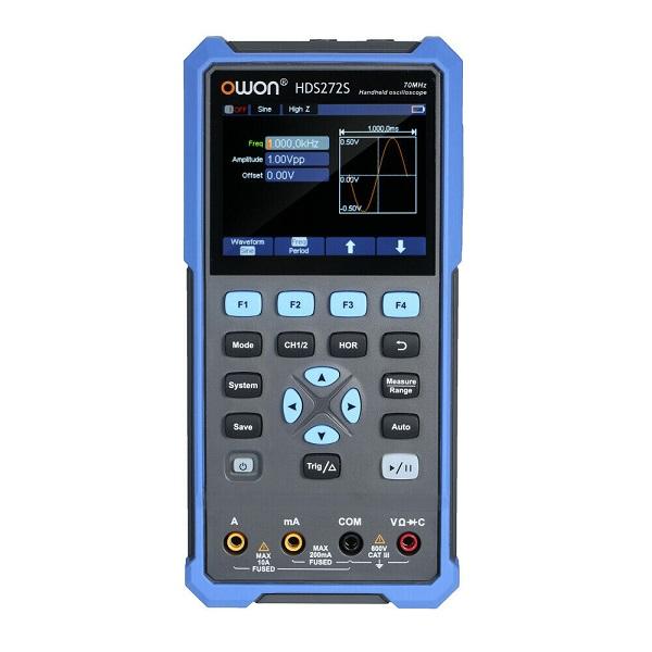 HDS272S Handheld Digital Oscilloscope