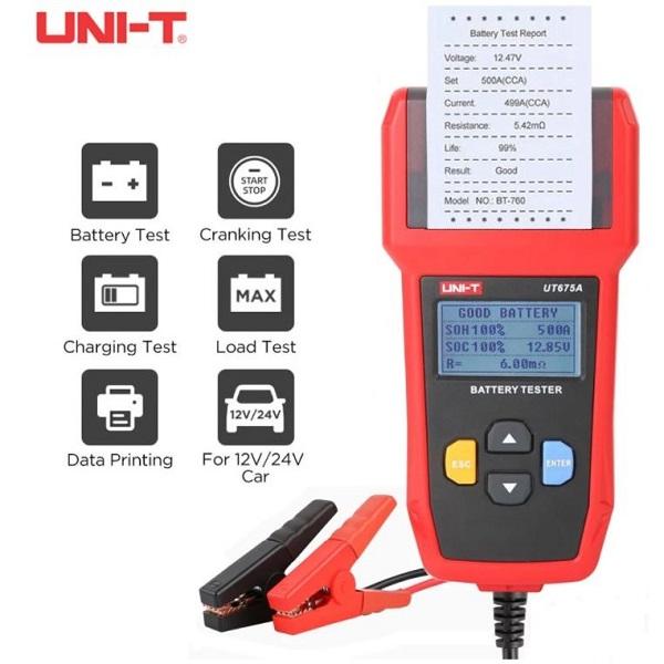 UT675A Battery Tester