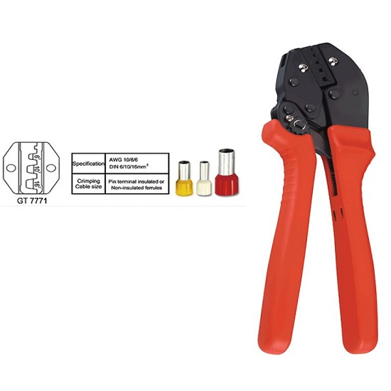GT-7771 PIN Terminal Insulated Crimping Tool