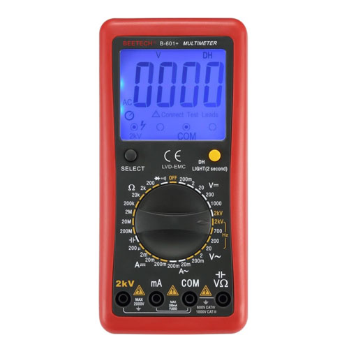 B-601+ Digital Multimeter 2000V AC/DC
