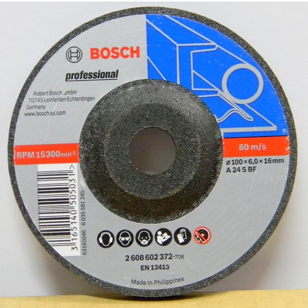 Grinding disc - metal Dia. 4 Inch/ 100 mm