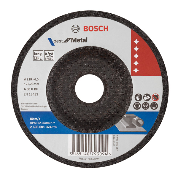 Best for Metal Grinding Disc- 5 inch /125 mm