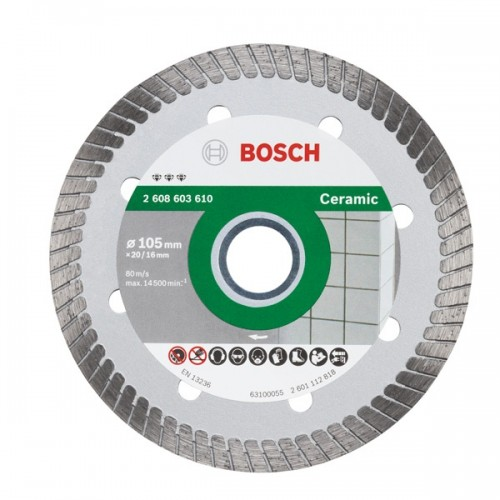 2608603611 Diamond Tile Cutting Disc- 4 Inch