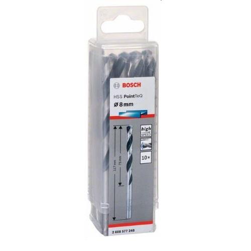 HSS Twist Drill Bit PointTeQ 8 mm (10 Pack)