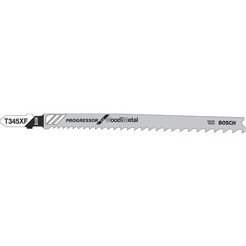 Jigsaw Blade T 345 XF- Pack of 5