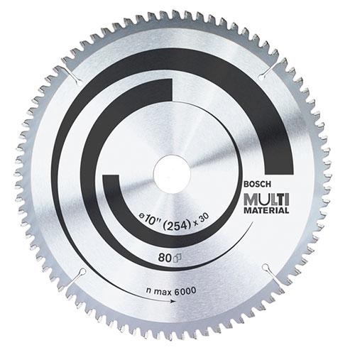 Multi Material Circular Saw Blade 10/254 x 2 7 x 30 mm