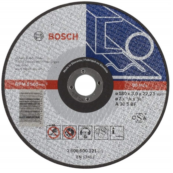 Expert for Metal Straight Cutting Disc Specification 180 mm/ 7 Inch