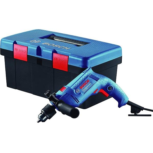 Freedom Kit GSB 550-Watt Impact Drill Kit (Blue, 90-Pieces)