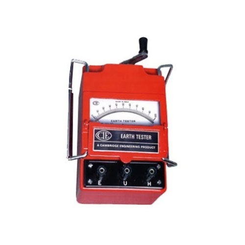222M Earth Tester (Hand Driven Generator Type)