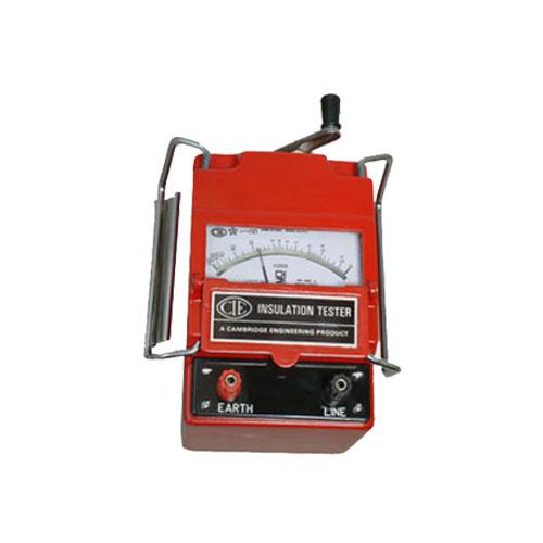 444 Analog Insulation Tester - 500V, 0-100M MOhm