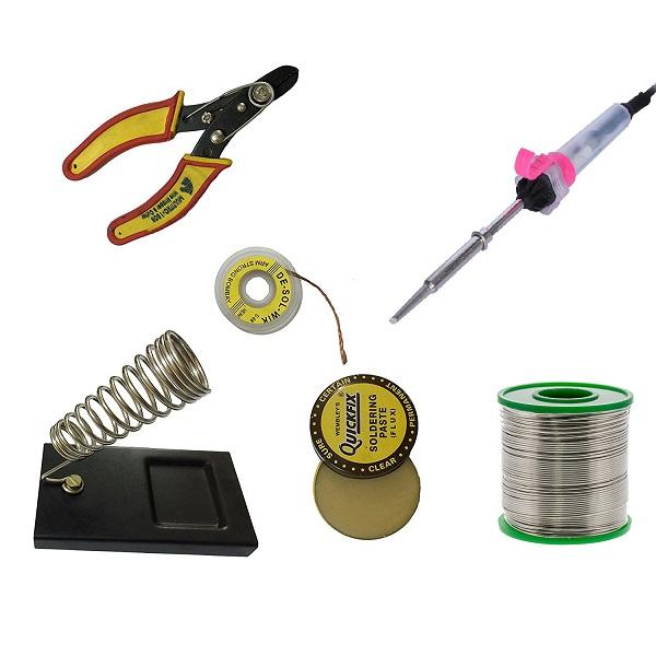 Basic Soldering Kit-  6 in 1