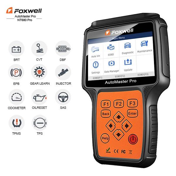 NT 680 PRO Professional Car Scanner