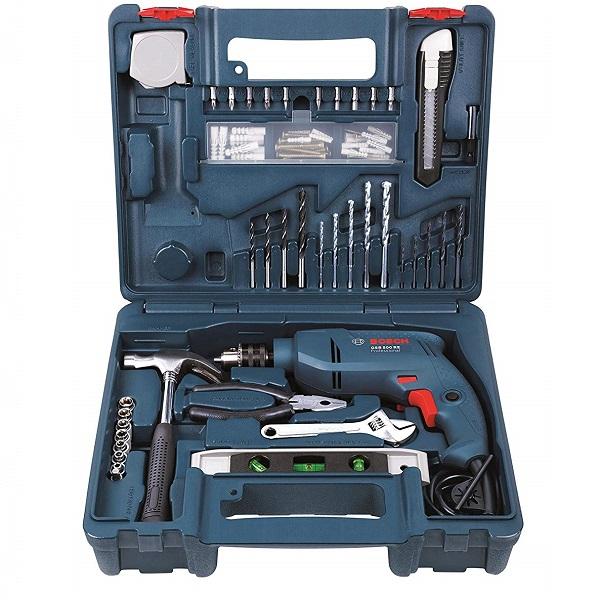 GSB 500W 500 RE - 10mm Impact Drill Kit