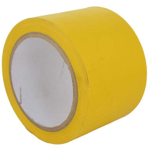 Vinyl Floor Marking Tape 3 inch/72 mmx 30metres - Yellow