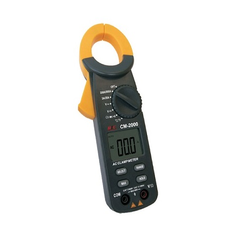 CM 2000 600A AC Clamp Meter