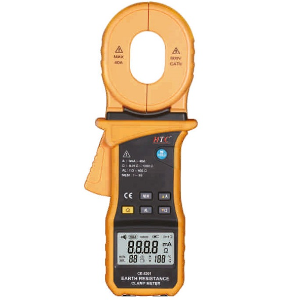 CE-8201 Clamp on Ground Resistance Tester with Current
