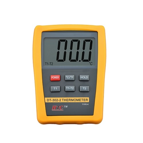 DT-302-2 Digital Thermometer (Dual Input)