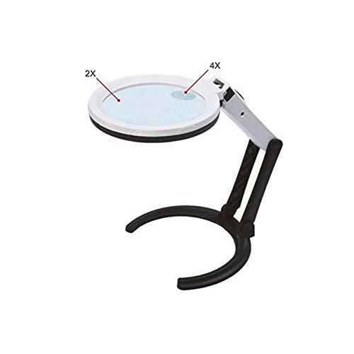 7512-1 Three Ways Magnifier With illumination 2X/4X