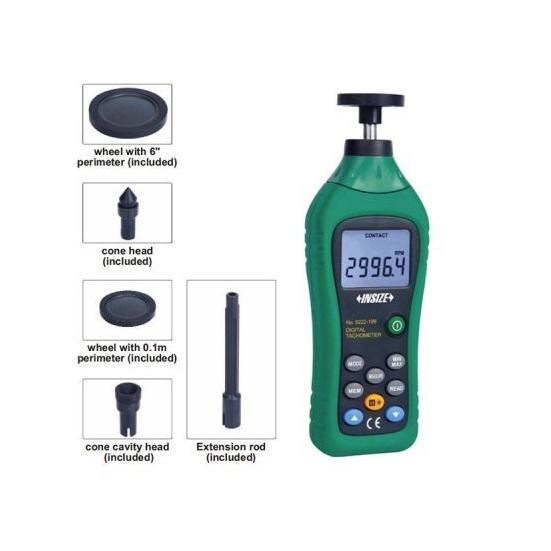9222-199 Contact Digital Tachometer