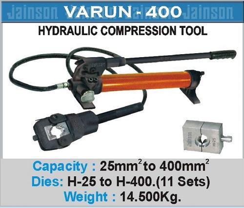 Varun-400 Crimping Tool with Foot Pump