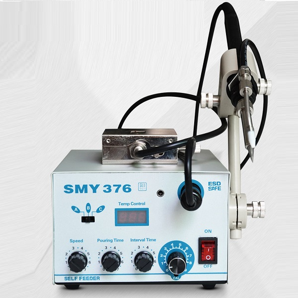 SMY-376 Digital Soldering Station With Auto Feeder