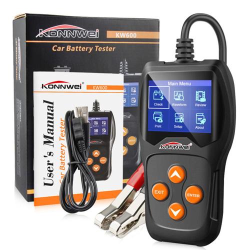 KW600 Digital 12V Battery Tester