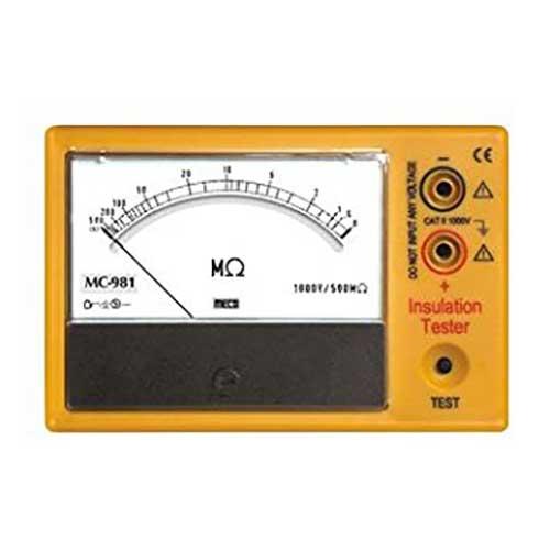 MC 981 Analog Insulation Tester