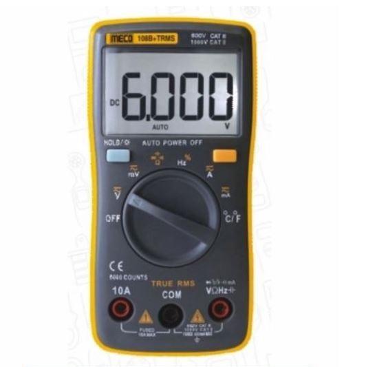 108B+ TRMS Digital Multimeter