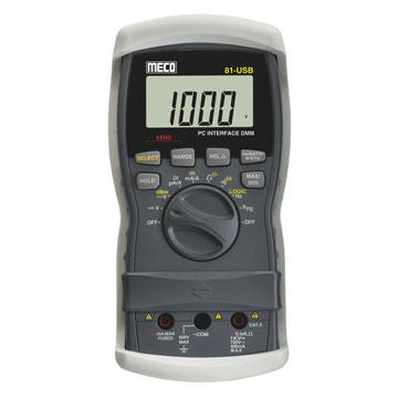 81 USB Digital Multimeter