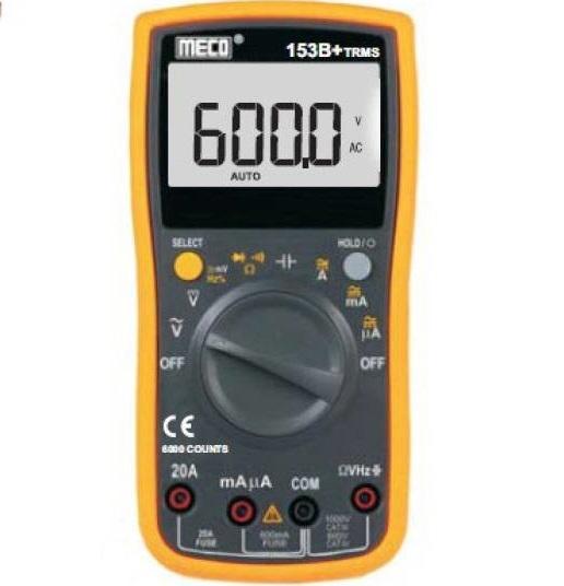 153B+ TRMS Autoranging Digital Multimeter