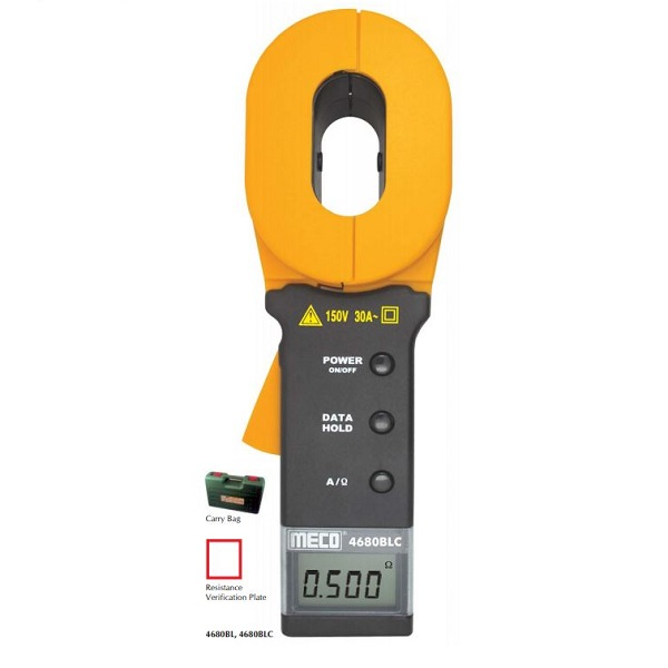 4680BLC Clamp - On Earth / Ground Resistance and Leakage Current Tester