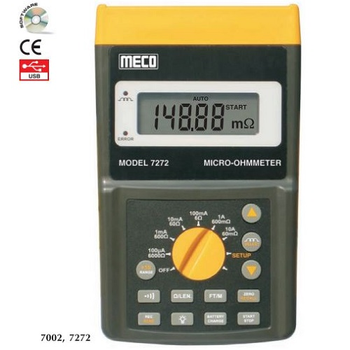 7272 Micro Ohm Meter