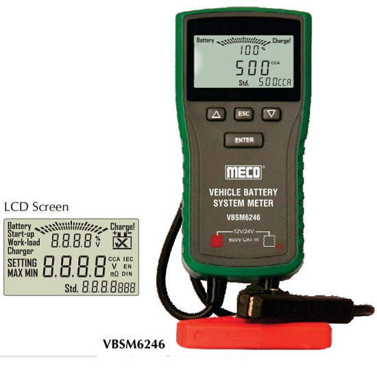 6246 Vehicle Battery System Meter