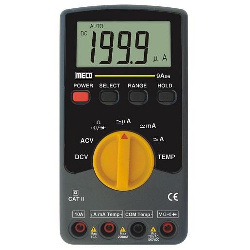 9A06 Digital Multimeter (AC Voltage Range 200mV to 750V)