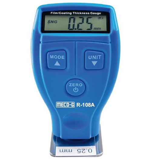 R-108A Digital Coating Thickness Meter Ferrous and Non-Ferrous