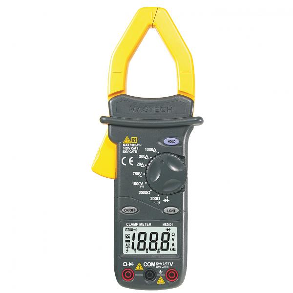 MS2001 - Digital AC Clamp Meter