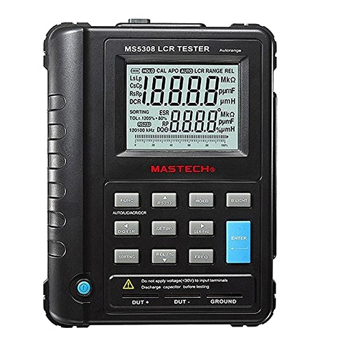 MS5308 Digital LCR Meter with USB interface