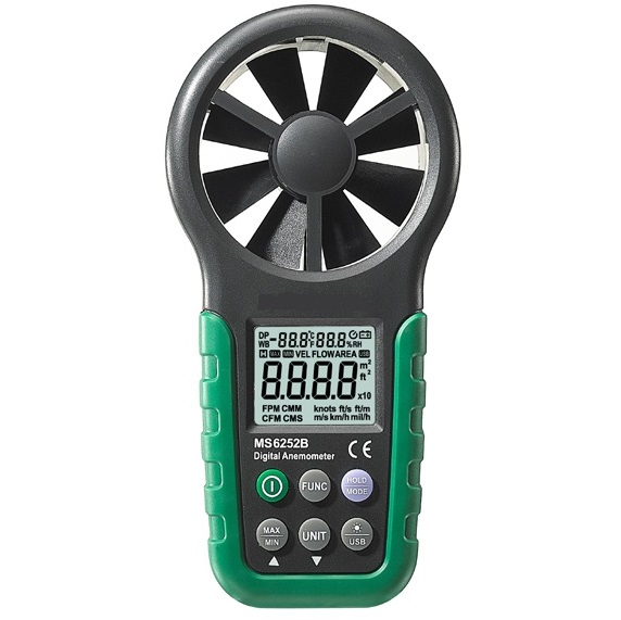 MS6252B Digital Anemometer
