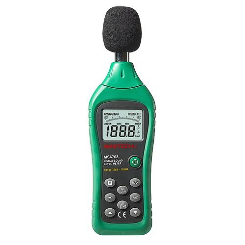 MS-6708 Digital Sound Level Meter (Level Range 30dB-130dB)