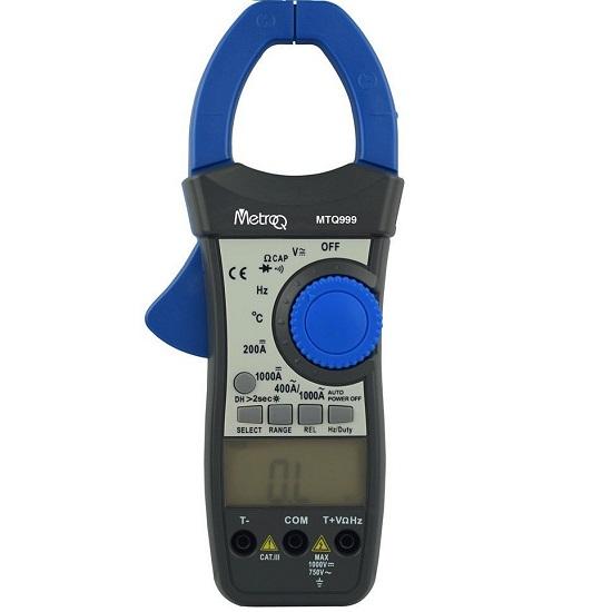 MTQ 999- 1000A AC/DC Clamp Meter- Trms