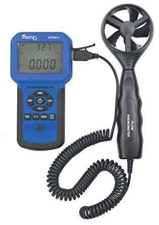 MTQ 8011 Anemometer with CFM/CMM