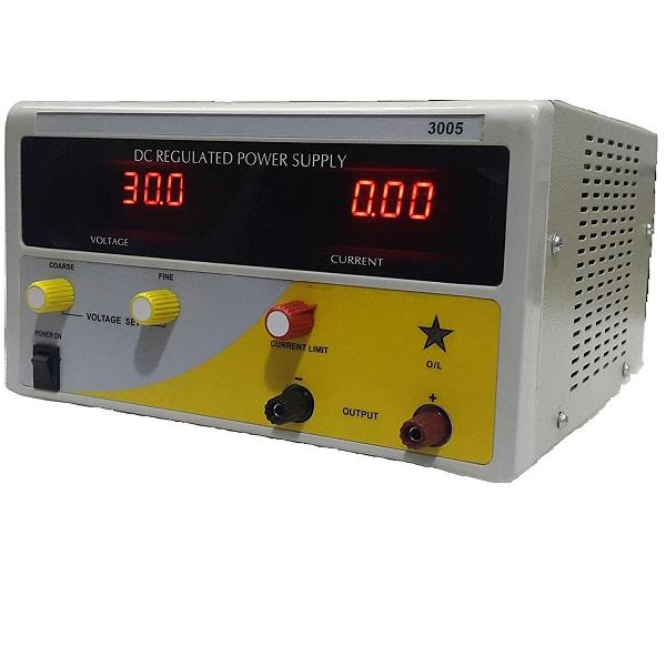 MTQ 6005 Digital Power Supply (60V DC/ 5 Amp)