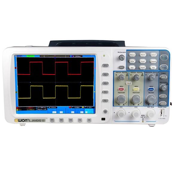 SDS-8202V Deep Memory Digital Storage Oscilloscope 200 MHz